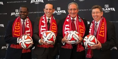 atlanta mtl team launching their scarves