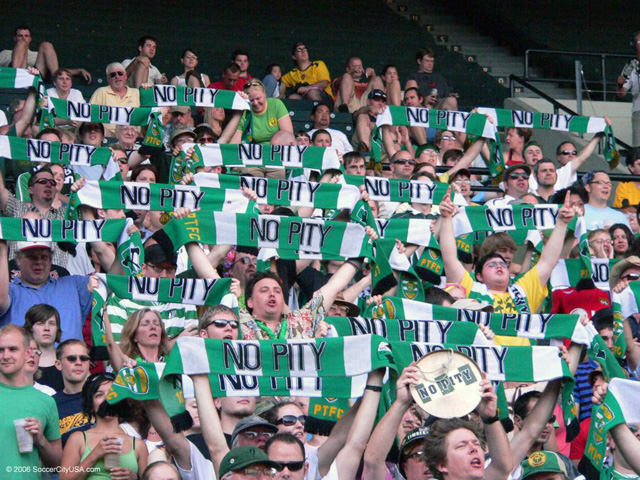 timbers army scarves