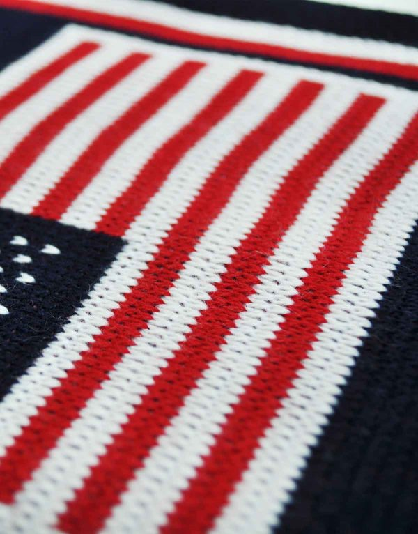 united states flag scarf