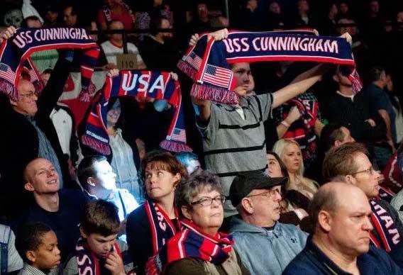 uss cunningham custom scarves