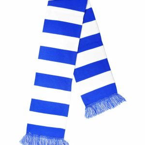 blue bar scarf