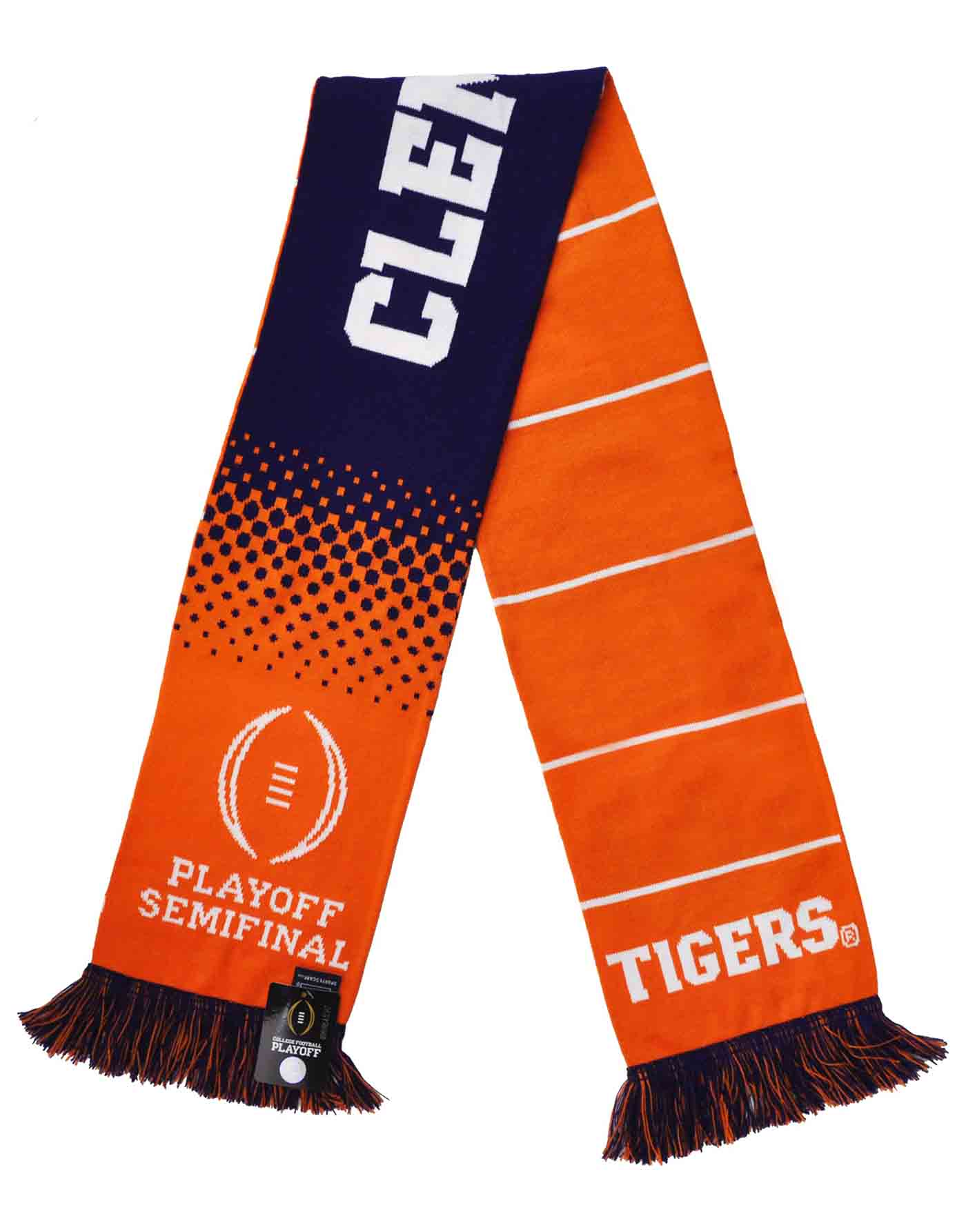 Official 2018 Notre Dame CFP Cotton Bowl Knitted Scarf