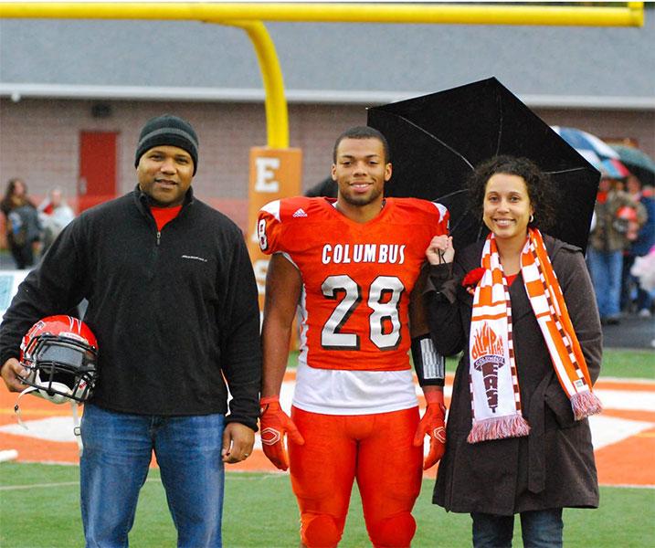 colombus east high school football custom scarves