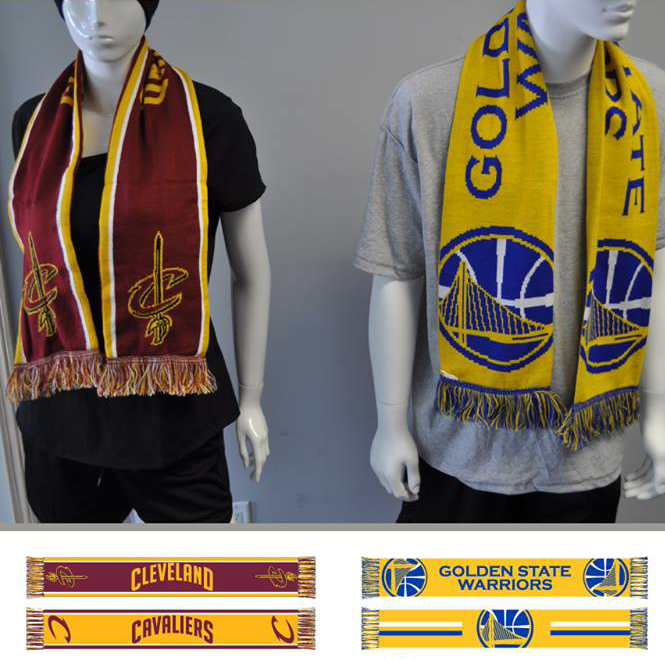 nba finals 2015 basketball scarves
