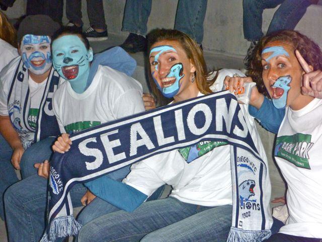 san diego sea lions fans
