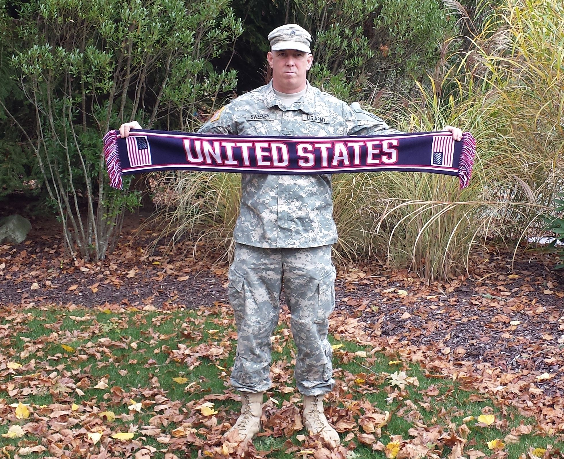 united states military custom scarves
